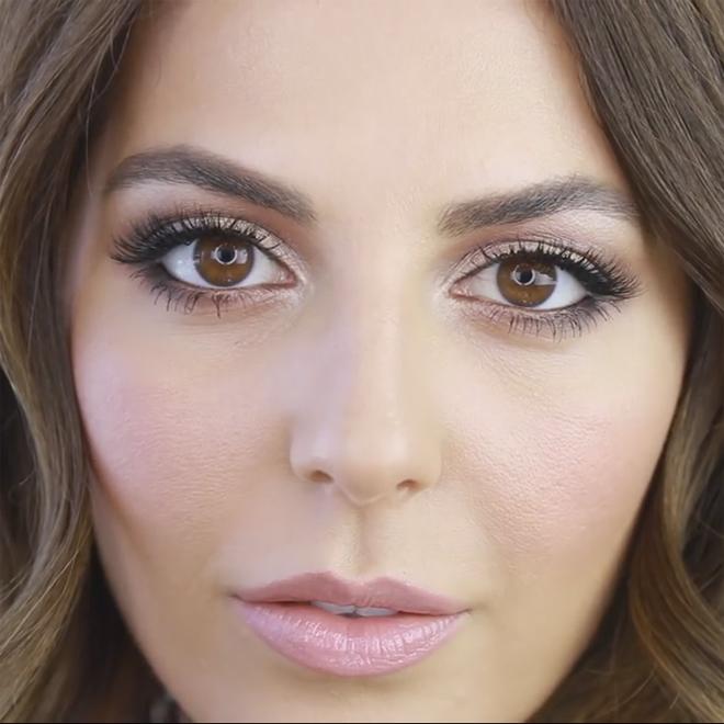 μακιγιάζ για καστανά μάτια