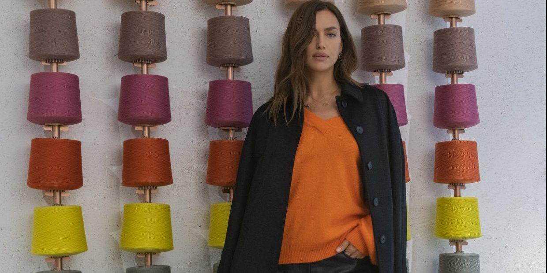H Irina Shayk φορά τα ωραιότερα πλεκτά του χειμώνα