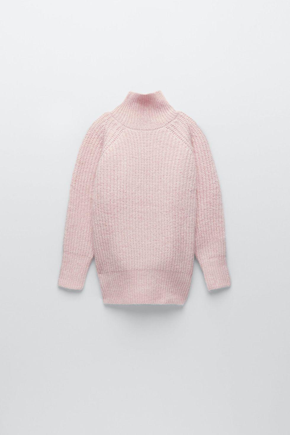 Ροζ πουλόβερ, Zara.