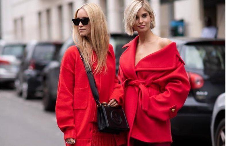 Το total red look απευθύνεται αποκλειστικά σε δυναμικές γυναίκες!