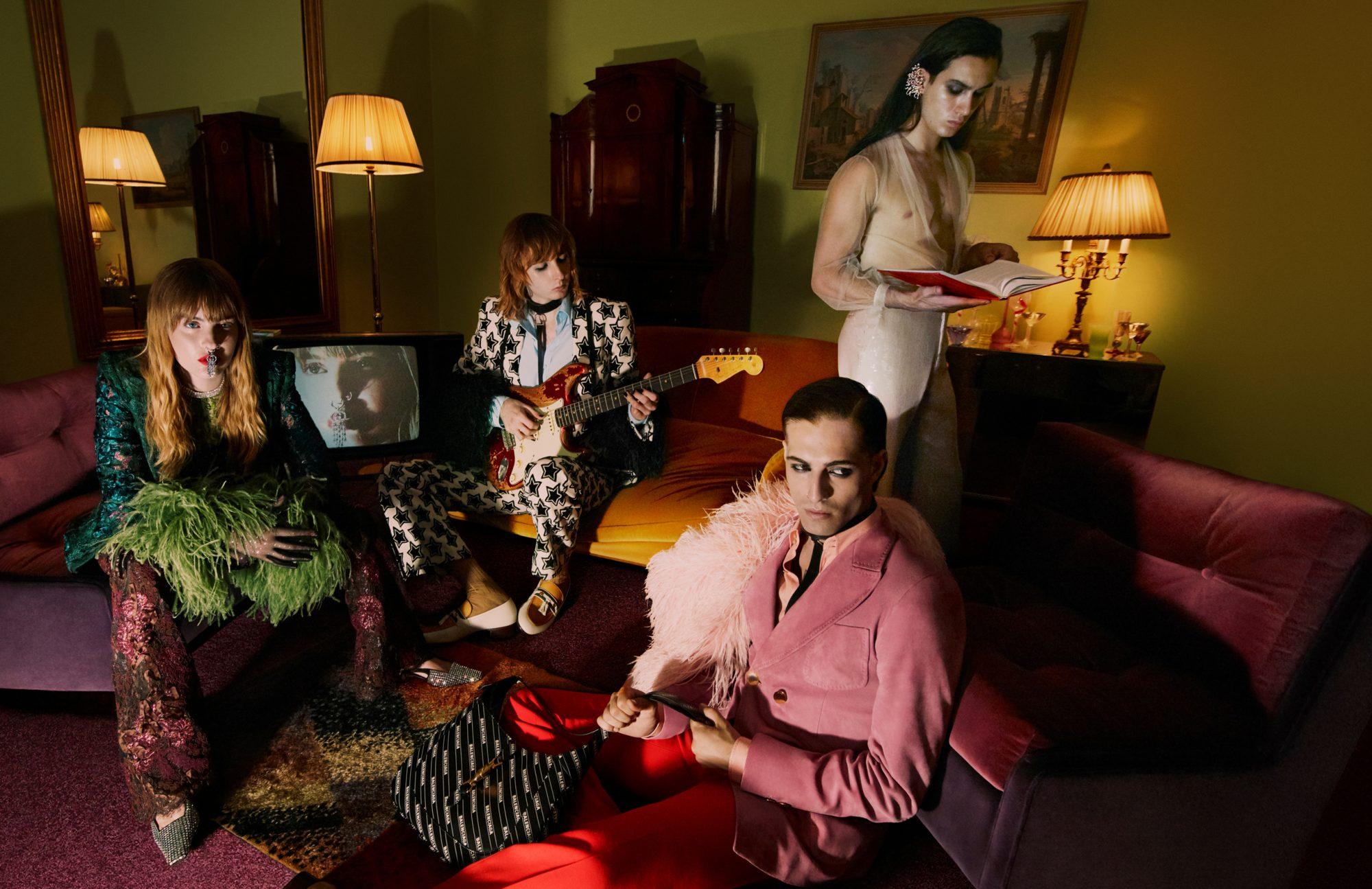 Gucci Aria: Oι Μaneskin πρωταγωνιστούν στην καμπάνια του ιταλικού οίκου